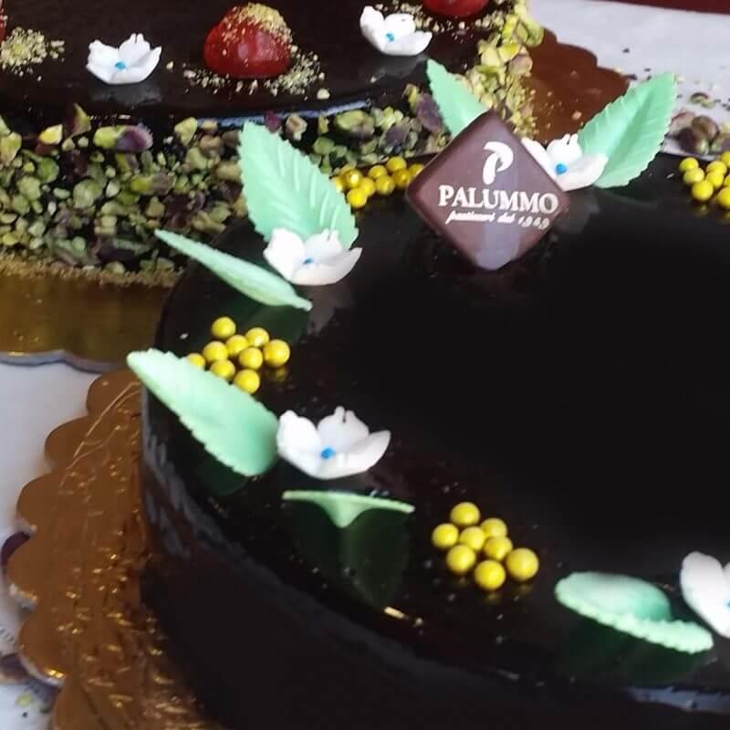 Torta sette veli di cioccolato