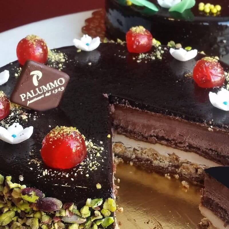 Torta siciliana sette veli cioccolato